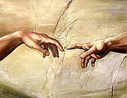 La creazione di Michelangelo nella cappella sistina