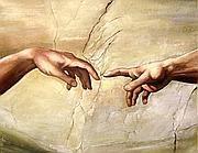 La creazione di Michelangelo nella cappella sistina