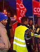 Operai immigrati in sciopero