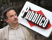 Luca Telese, direttore ed editore di «Pubblico»