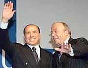 Berlusconi e Storace (Eidon)