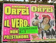 Un manifesto pubblicitario del Circo Amedeo Orfei
