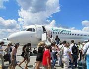 Un aereo Carpatair