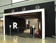 Il fast track Alitalia chiuso a Fiumicino  (Ansa)
