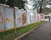 Primi tabelloni intorno alla Sapienza (Jpeg)