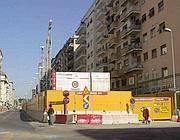Il cantiere della metro B1 su viale Libia (Jpeg)