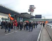 La protesta del 15 gennaio a Fiumicino (Costantini)