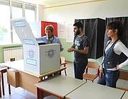Un seggio elettorale (Ansa)