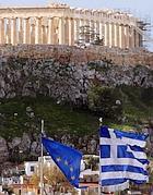 Il Partenone ad Atene (Epa)