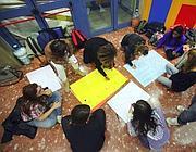 Studenti alla Casa dello Studente (Eidon)