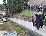 L'inaugurazione del percorso (Eidon)