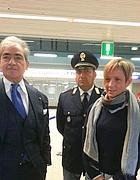 Antonio Del Greco (sinistra) e Tiziana Guarna (a destra)