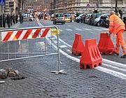 La buca a piazza Cavour (Jpeg)
