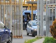 L'intervento della polizia al Cie di Ponte Galeria (Proto)