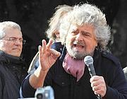 Il leader Beppe Grillo (Ansa)
