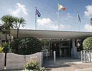 L'ingresso del consiglio regionale del Lazio (Imago)