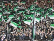 I tifosi del Borussia all'Olimpico (Ansa)