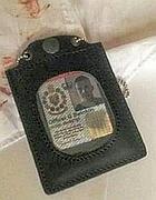 Il falso tesserino del giovane inglese arrestato (Proto)