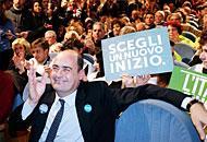 Lazio: urne chiuse, affluenza record