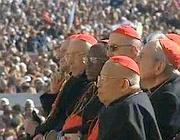 I cardinali giunti a Roma per l'ultima udienza di Benedetto XVI