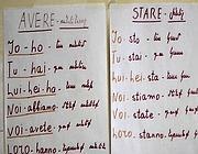 Fogli per le lezioni di italiano