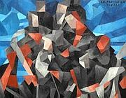 «La processione», di Francis Picabia - 1912