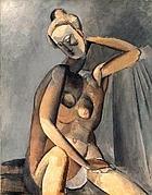 «Nudo» di Pablo Picasso (1907), quadro in mostra