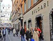 Il negozio Bulgari in via Condotti a Roma (Proto)
