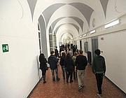 Studenti nei corridoi del Tasso (Jpeg)