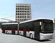 Un rendering dei nuovi filobus che dovevano essere venduti da Breda Menarini all'Atac