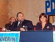Franco Fiorito con Renata Polverini