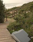 Rifiuti sulla duna di Sabaudia