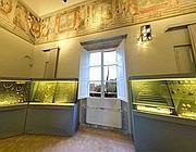 La sala degli ori del museo di Villa Giulia (Proto)