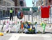Boston il giorno dopo l'attentato (LaPresse)
