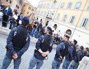 Protesta in piazza Montecitorio (Savoia)