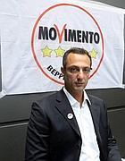 Il candidato al Campidoglio per il M5S Marcello De Vito (Fotogramma)