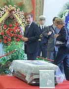 Anche Ignazio La Russa alla camera ardente per Buontempo in Campidoglio (Jpeg)