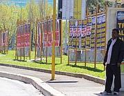 Roma piena già da settimane di manifesti elettorali (Jpeg)