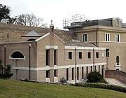 Il convento Mater Ecclesiae (foto Ansa)