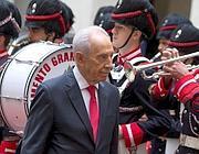 Shimon Peres (foto Ansa)