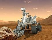 Il robot Curiosity (Afp)