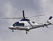 L'elicottero di Ratzinger (Afp)
