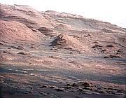 Il monte Sharp su Marte (Epa)