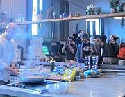 Una festa tra «colleghi per caso» negli spazi condivisi di Coho, sulla Tiburtina