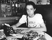 Antonietta Gregori pochi mesi dopo il rapimento della sorella (Ansa)