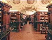 Una sezione della Biblioteca nazionale
