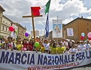 L'arrivo in piazza San Pietro (Jpeg)