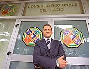 Mario Abbruzzese quando era presidente del consiglio regionale del Lazio (Jpeg)