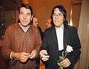 Fiacchini con Renato Zero (foto dal web)