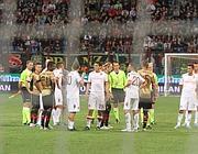 Il match del 12 maggio sospeso per i cori a Balotelli (Ansa)